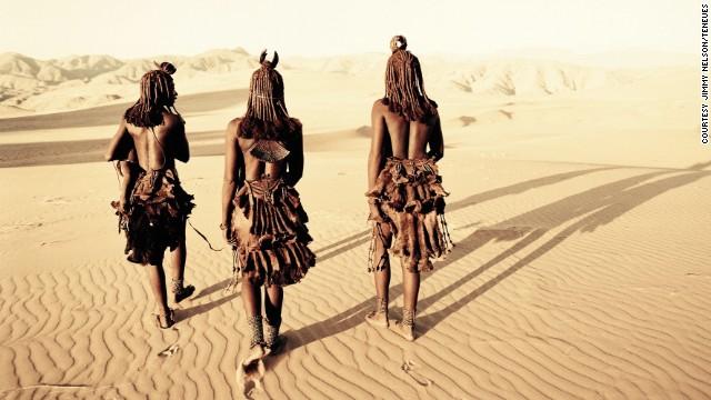 люди в пустыне