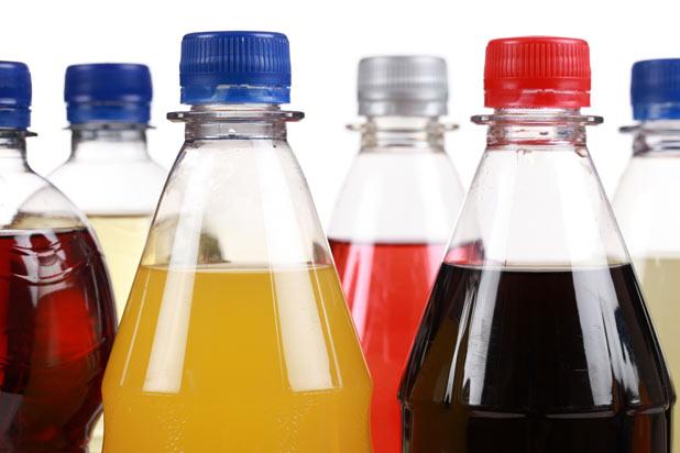 Газированные безалкогольные напитки
