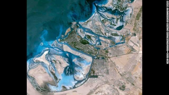 фотография планеты из космоса