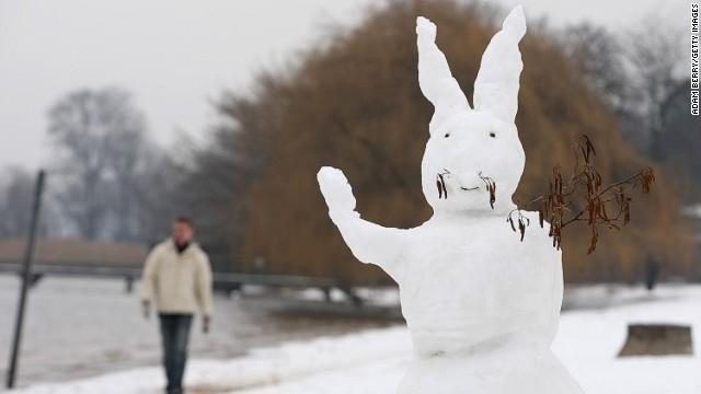берлин зимой