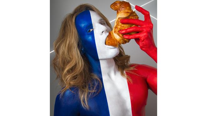 франция и круассан