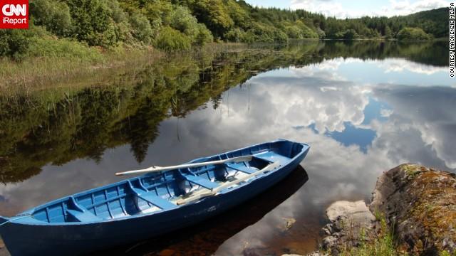 озеро в ирландии