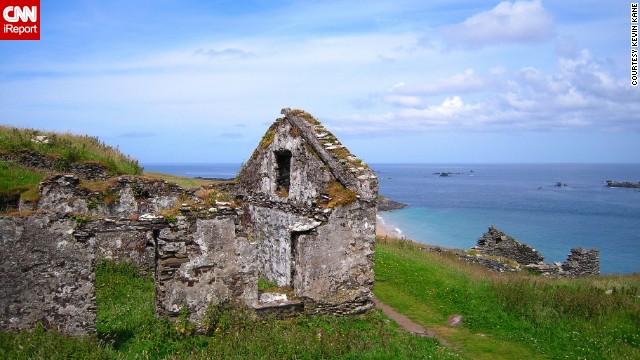 старое здание ирландии 2
