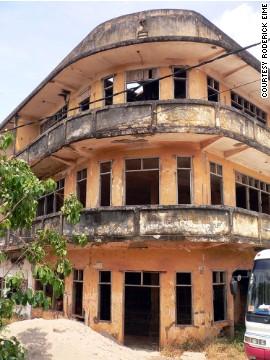 Безымянный отель, Вьентьян, Лаос
