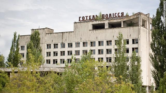 Отель Полесье, Припять, Украина