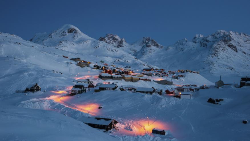 Полярный круг, Гренландия