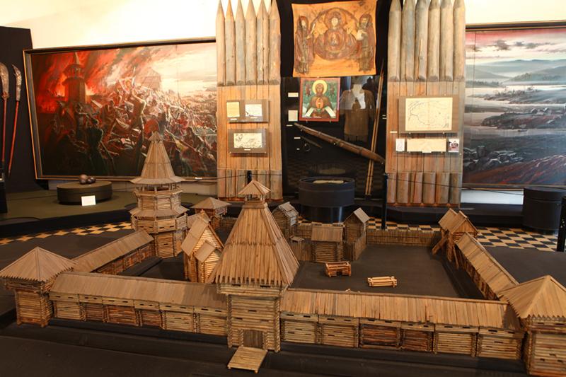экспонаты музея Благовещенска
