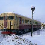Музей железнодорожной техники в Южно-Сахалинске