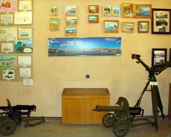 Владивостокская крепость-музей внутри