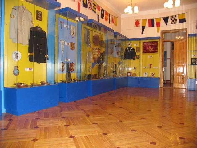 экспозиция музея Тихоокеанского флота
