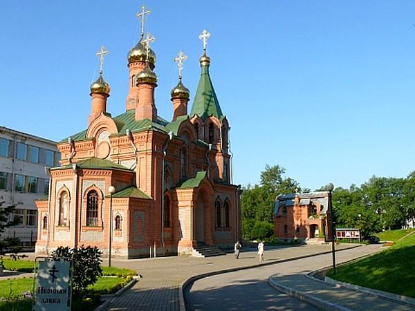 иннокентьевская церковь в хабаровске после реставрации