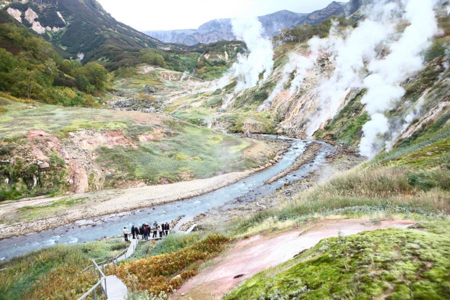 камчатская долина гейзеров