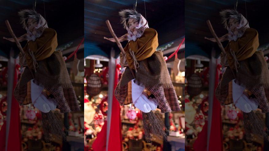 рождественская ведьма