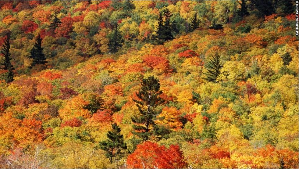 Белые горы, Нью-Гэмпшир, США