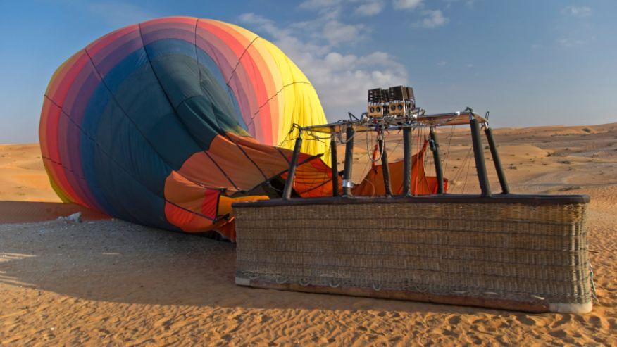 Красные песчаные дюны, Дубай