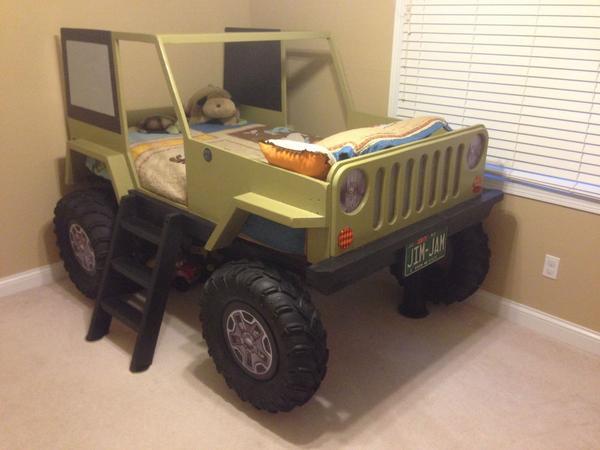 Кровать «Джип»