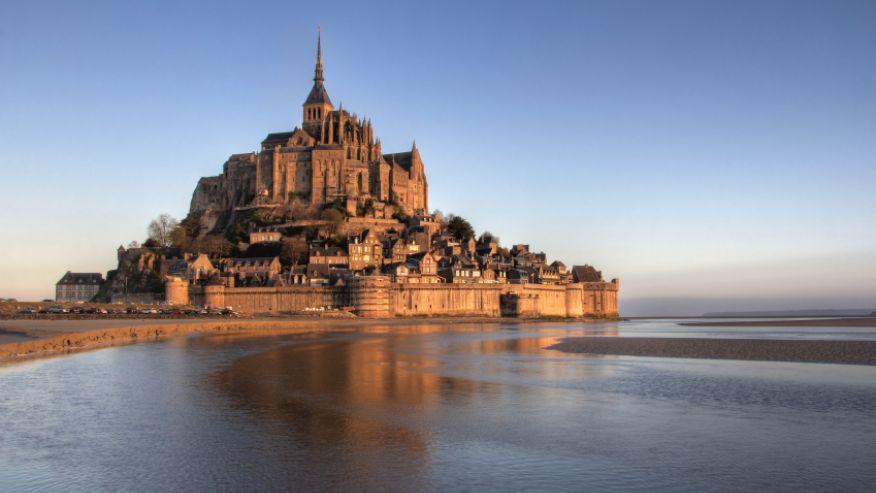 крепость Мон-Сен-Мишель
