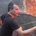 Экстремальная готовка: пожарить зефир в жерле вулкана