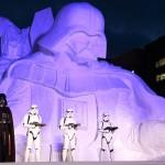 Дарт Вейдер на снежном фестивале в Саппоро