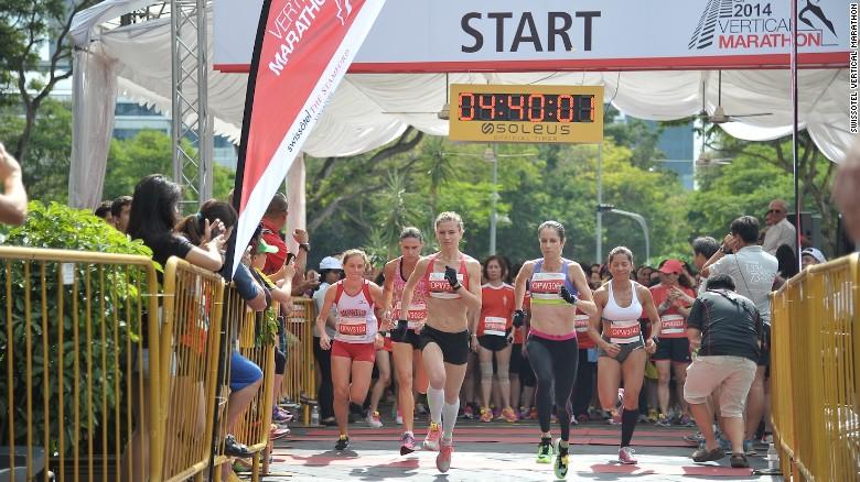 Swissotel Vertical Marathon