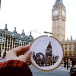 Вышивка на память: воспоминания о путешествиях на кусочках ткани