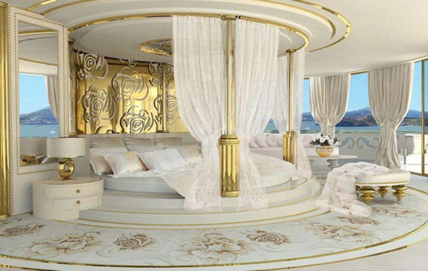 яхта для женщин - спальня