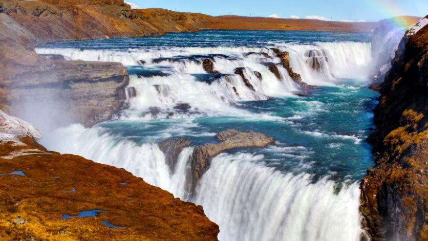 Гюдльфосс, Исландия
