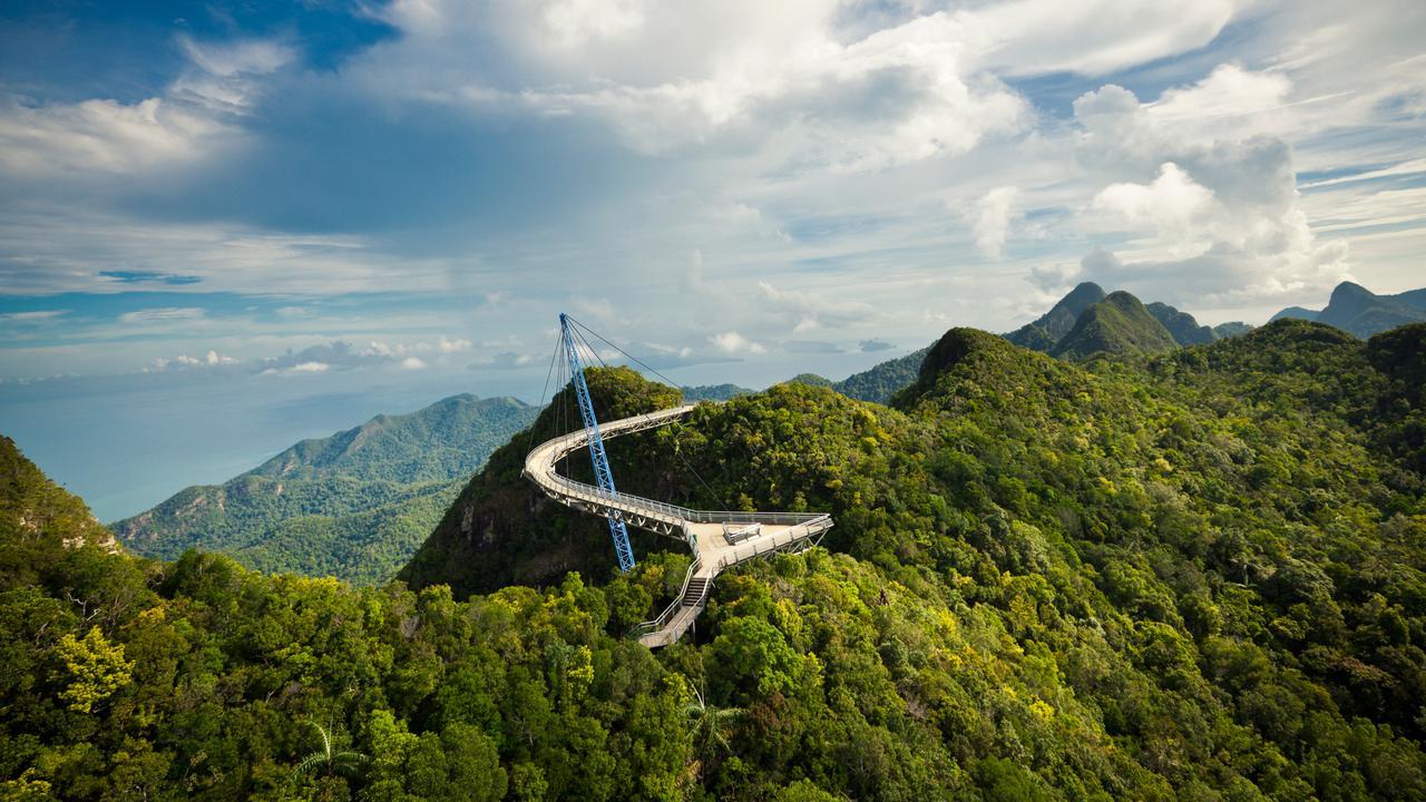 Лангкави - охватывающий небо в Малайзии