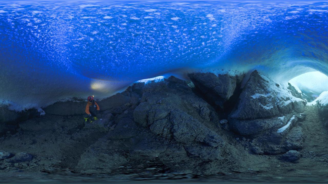 Пещеры под голубым куполом