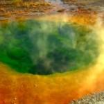 Озеро Утренней Славы  позеленело от монет удачи