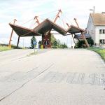 Необычная архитектура заброшенных пограничных постов в Европе