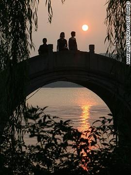 sunsets-west-lake