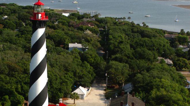 Маяк в Сент-Огастине, Флорида