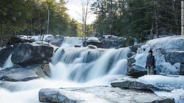 Ванны Дианы, Нью-Гемпшир, США
