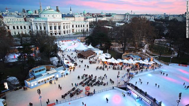 Венская ледяная мечта, Вена, Австрия