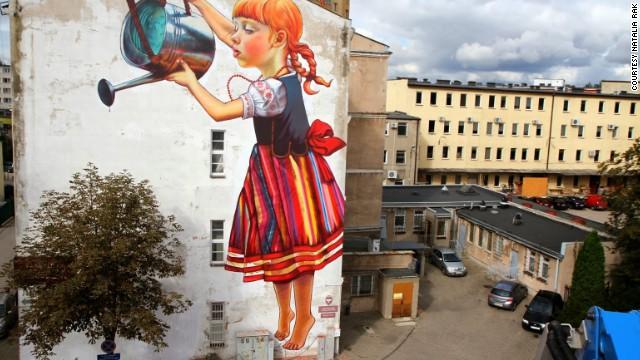 Польша картины на стенах