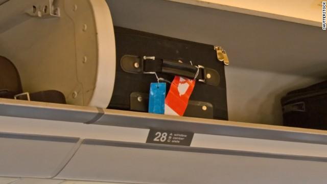 Злоупотребление местом на полке для багажа
