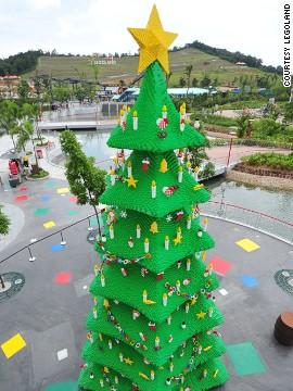 Лего-елка (Леголенд, Малайзия)