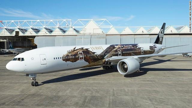 дракон на самолете