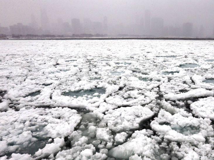 мичиган во льду