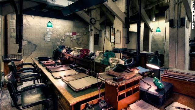 BTGRPE Cabinet War Rooms