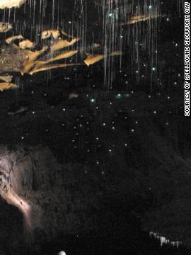 Светящиеся пещеры Ваитомо, Новая Зеландия