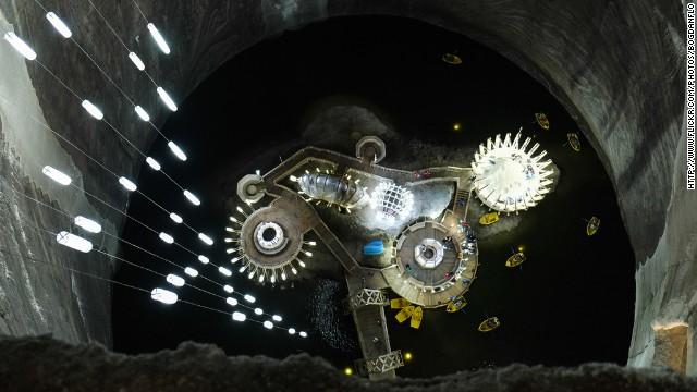 Соляная шахта Салина Турда, Румыния