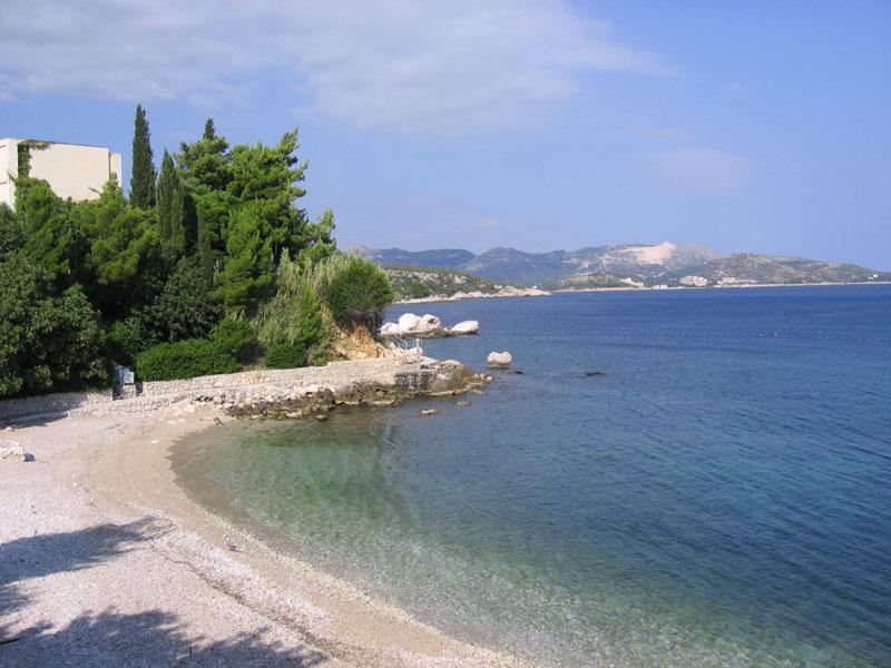 остров млет пляж