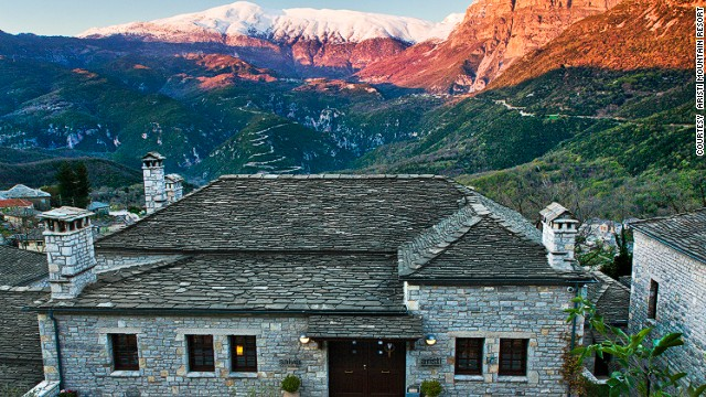 Романтический побег Aristi Mountain Resort Hotel and Spa