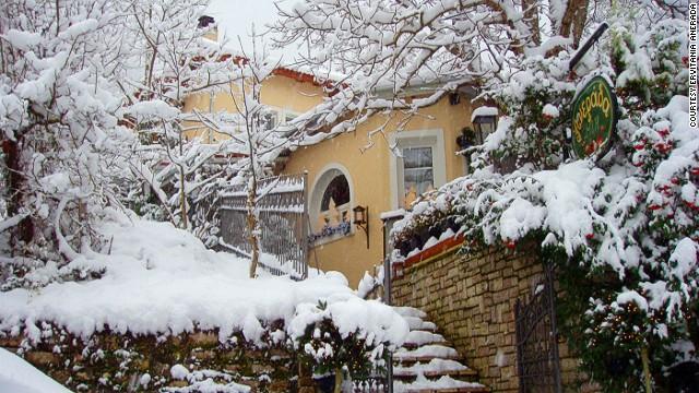 Снежный пейзаж Anerada Inn