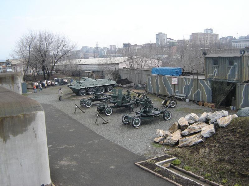 Владивостокская крепость-музей двор