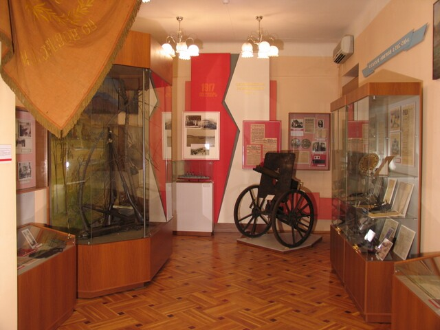 экспозиция музея Тихоокеанского флота 2
