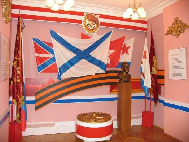флаги в музее флота