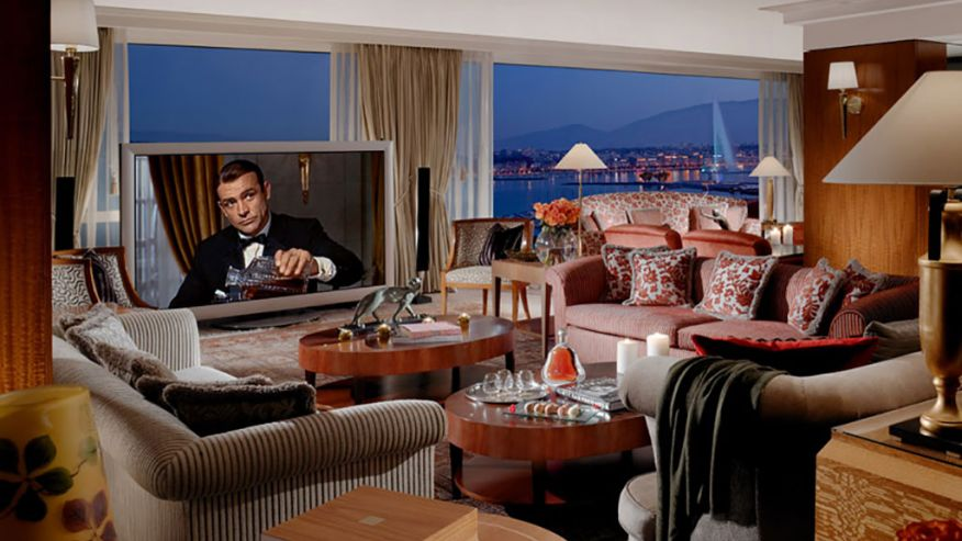 Королевский пентхаус в President Wilson Hotel, Женева, Швейцария